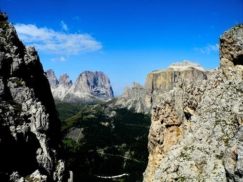Torre dell'Antonio summit view