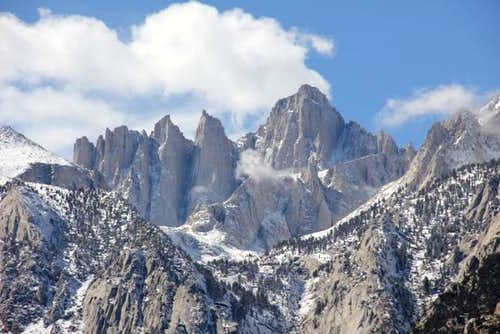 Mount Whitney via the Mountaineers Route: My Desolation Peak
