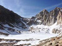 Frozen Lake - Mount Whitney
