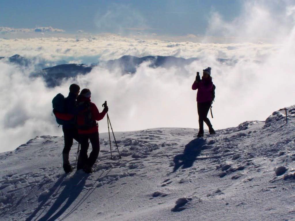On the peak of Porezen