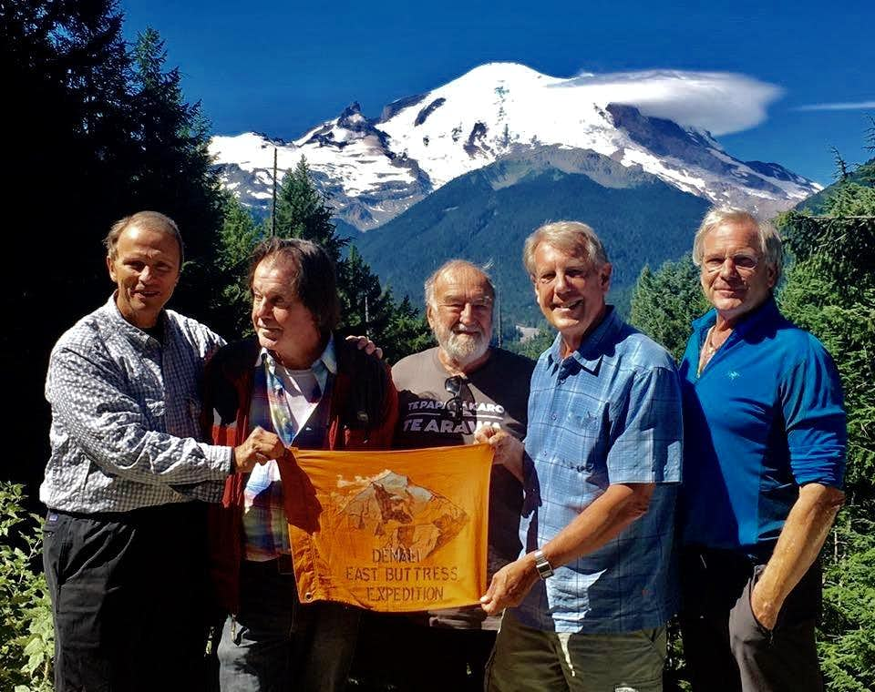 1977 Denali East Buttress Expedition 40 year reunion