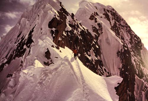 Mt. Huntington French Ridge