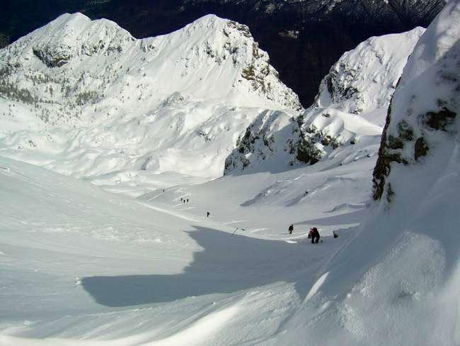 Ski-mountaineering from Passo...