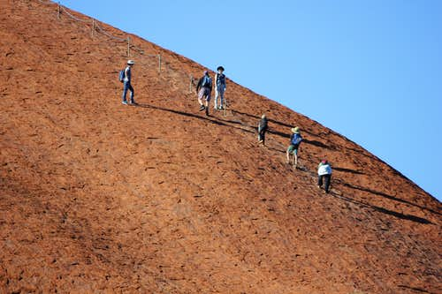 Uluru Summit Trail