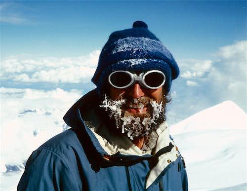 Urs Kuhnlein on Denali Summit