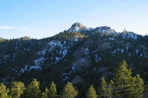 Hualapai Peak from the trail...