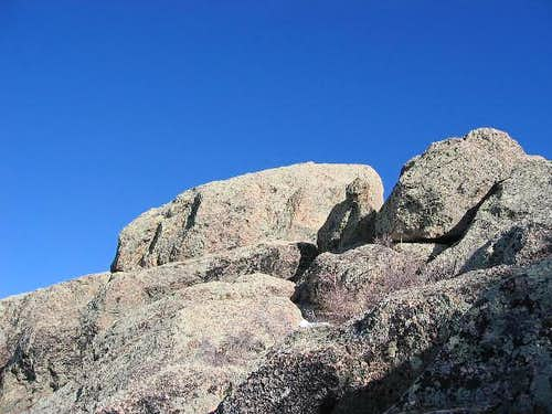 The highest point of Mohave...