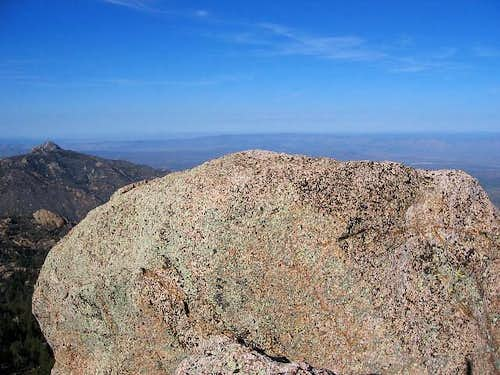 The top of Mohave county...