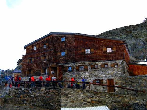The Similaun Hut