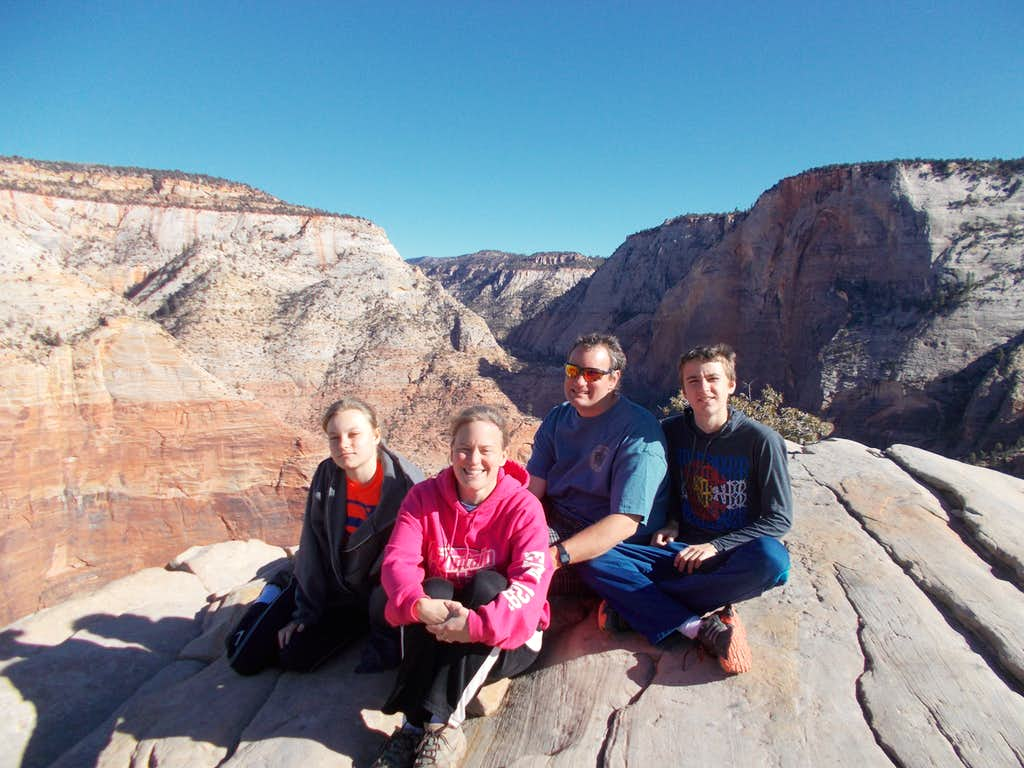 Summit of Angels Landing