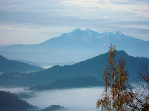 Tatras from Bereśnik