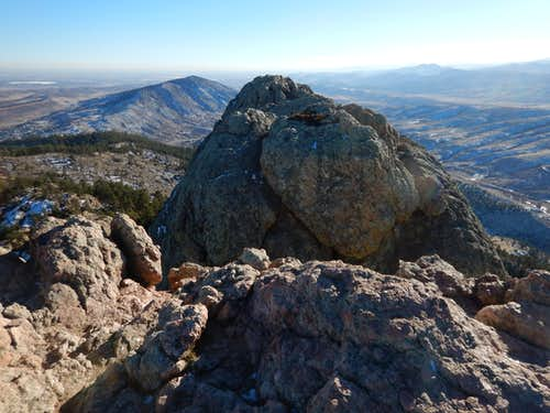 Horsetooth Rock