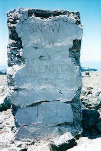 Snow Mt. West summit