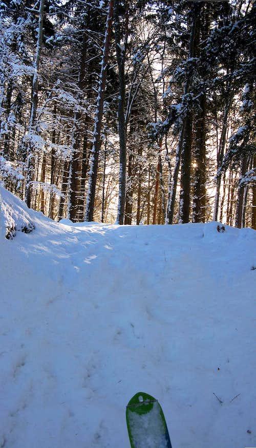 Winter in Serrada