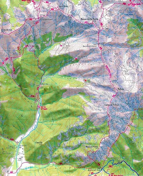 Gavardina map