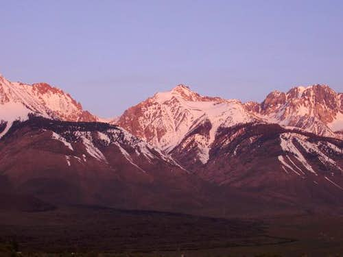 Cardinal Mountain(center) as...