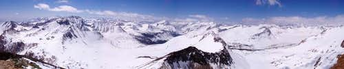 Panorama from the summit of...