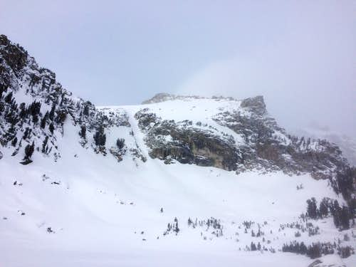 Spoon Couloir of Disappointment Peak