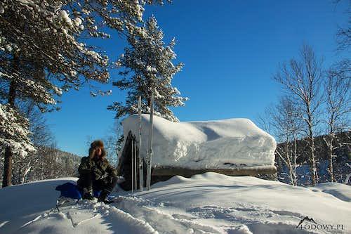 Lapland wintering 2017