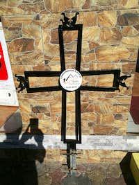 cross for Tungurahua summit