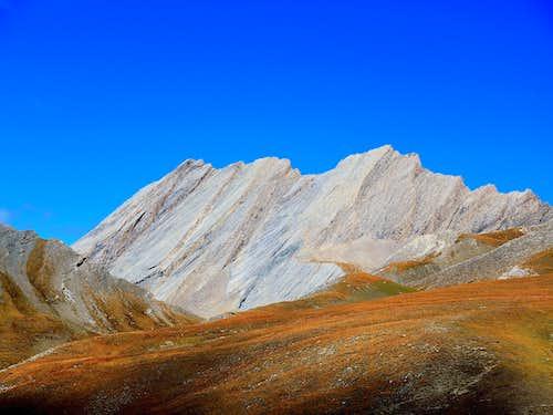 La Taillante from Colle dell'Agnello, Cozie Alps