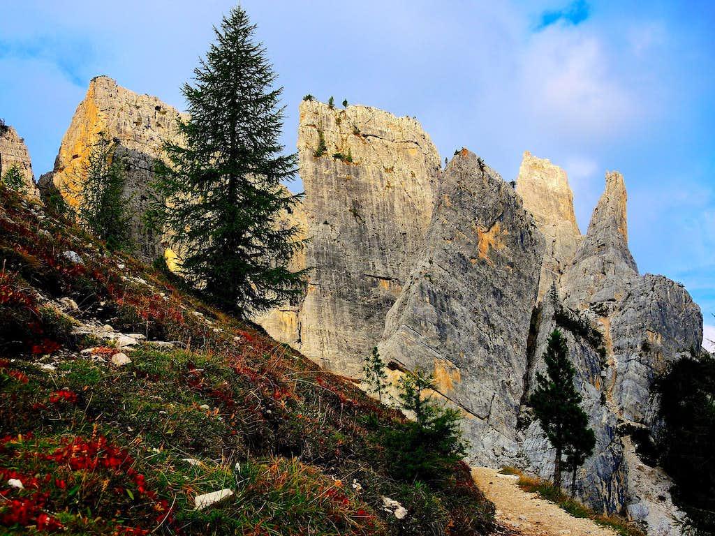 Cinque Torri, Cortina Dolomites