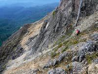 SW Gullies Route