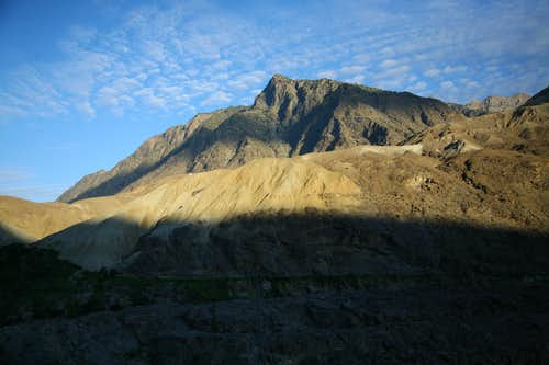 Beatiful view from Karakoram Highway