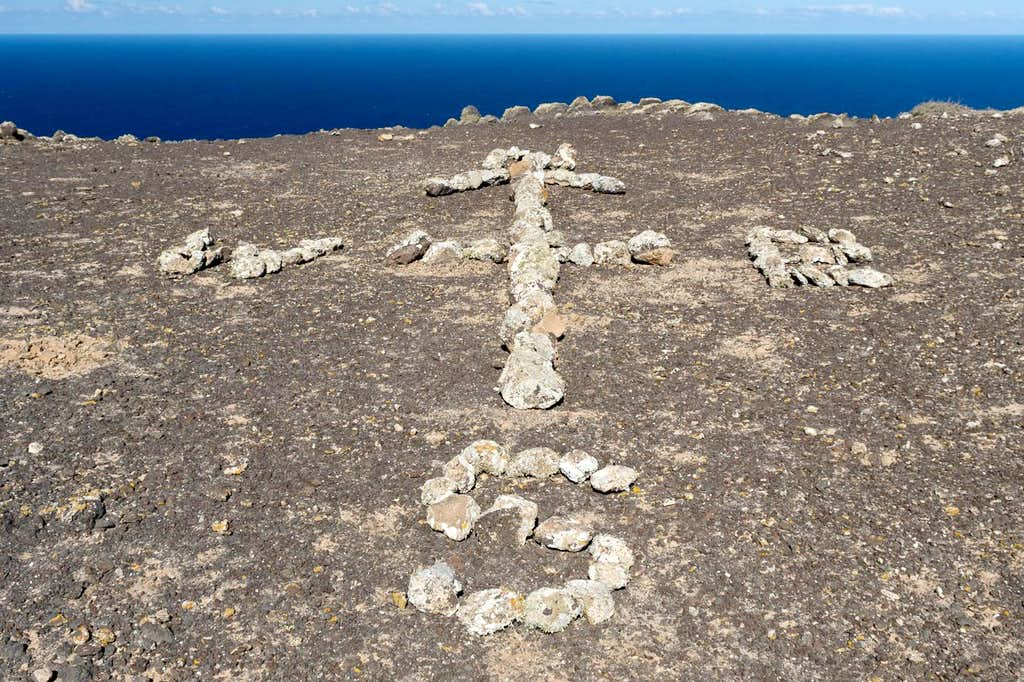 Stone Compass on Morro del Cuchillete
