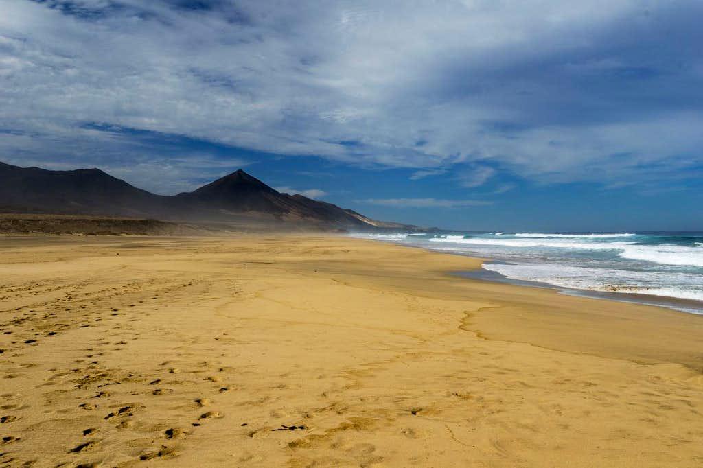 On Playa de Cofete