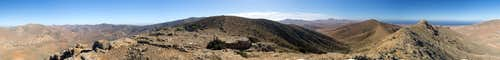 360° summit panorama from Pico Lima
