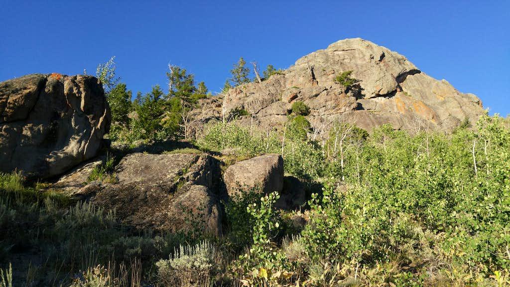 Lizard Rocks-- North Buttress