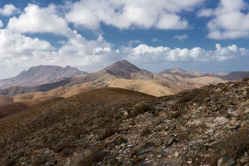 Montaña Cardon, Montaña Hendida