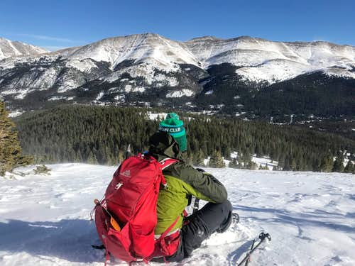 Quandary Peak Winter Ascent