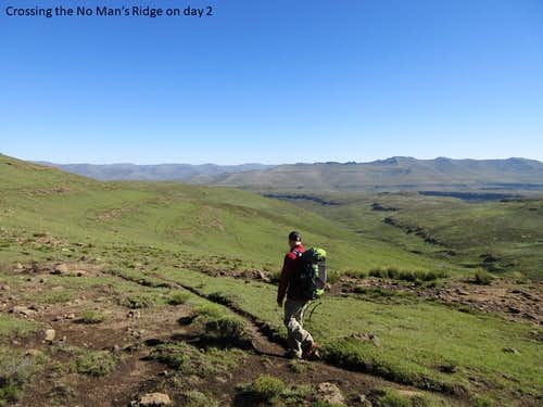 Double Crossing the Dragon - the tale of a back-to-back Drakensberg Grand Traverse