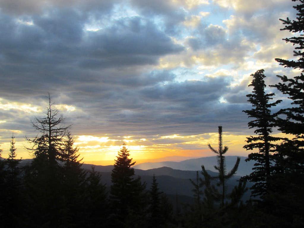 Lochsa Sunset