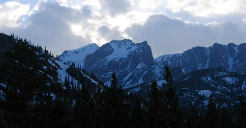 Hallet Peak viewed from near...