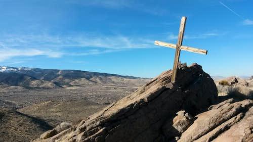 Cross at South Summit