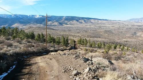 Descent from Steamboat Hills HP