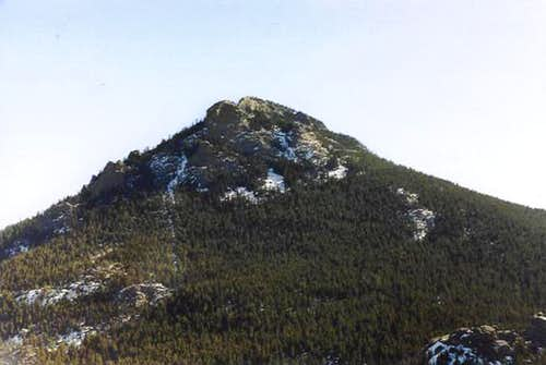 A prominent peak in the...