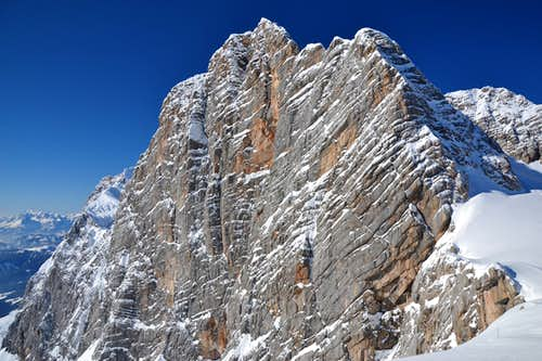 The south wall of the Dachstein
