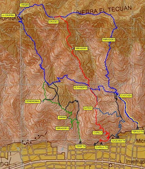 Overview Trail Map