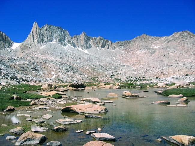 Granite Park. Mt Julius...