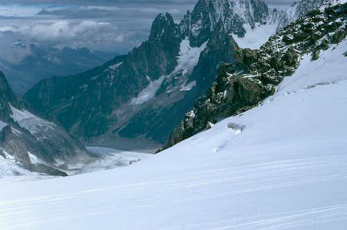 Glacier du Géant - Mer de Glace
