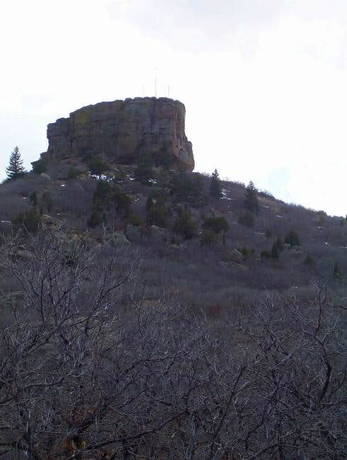 Castle Rock northwest side...