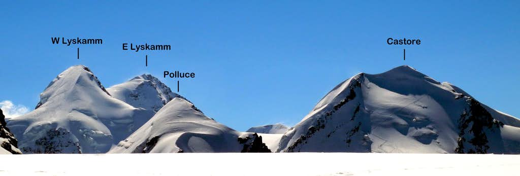 Verra Glacier annotated view