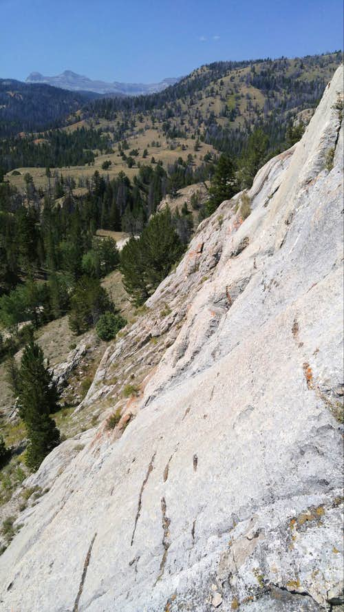 Horse Creek Slabs, 5.7-5.10c