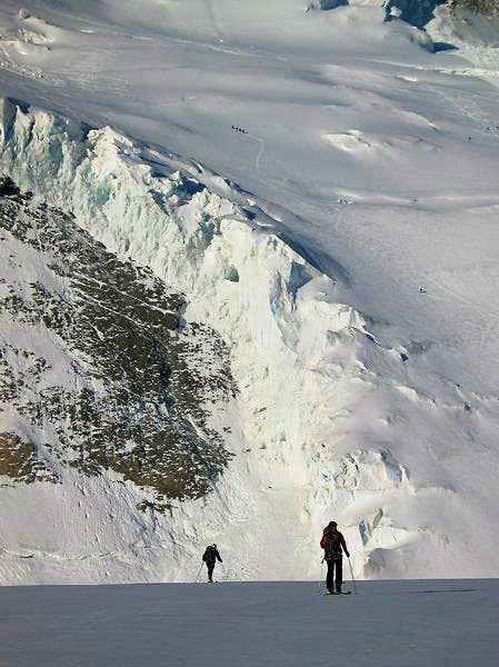 Blanche Glacier.