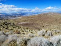 Dry Lake & Reno View