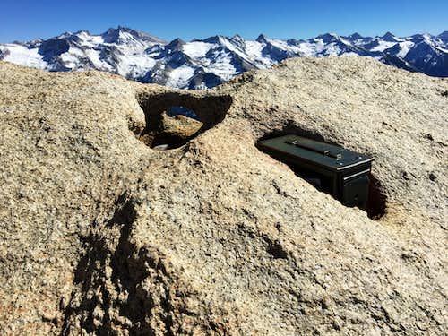 The Summit Register: Alta Peak